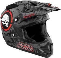 Msr Metal Mulisha Velocity Scope Helmet Matte M/medium Motocross Love, Atv Motocross, Cool Bike Helmets, Custom Motorcycle Helmets, Dirt Bike Gear, Dirt Biking, Womens Bike Helmet, Carbon Fiber Helmets, Motorcycle Helmets