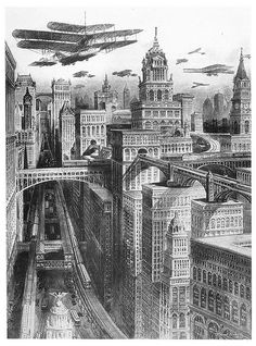 R. Rummel - Future New York (1911) | Flickr: partage de photos!