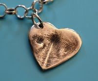 Kitty Cat Nose Print Silver Heart Charm by LilyBuds on Etsy, $58.00