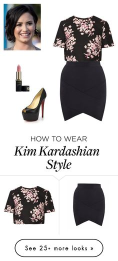 """Untitled #1974"" by joanne1law on Polyvore featuring Jonathan Saunders and Christian Louboutin"