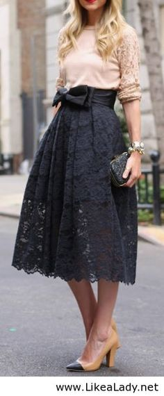 lace skirt - Google Search
