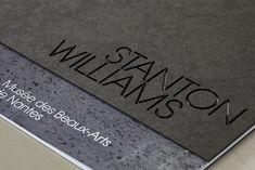 stanton williams identity by cartlidge levene #grafica #stampa #rilegatura