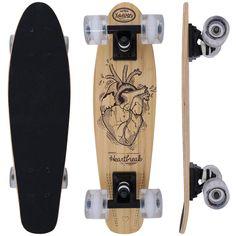 Feito em bambu e com rodas ABEC 7, o Skate X7 Heartbreak é a escolha certa para você que gosta de adrenalina e precisa de um equipamento de qualidade. Confira!