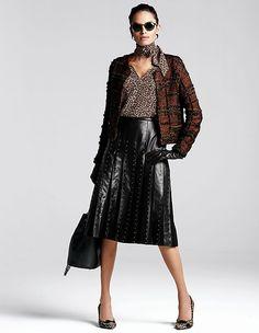 Leather skirt   MADELEINE Fashion