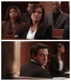 "Benson and Barba in ""Law & Order SVU"""