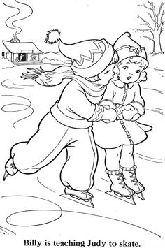 rainy days vintage coloring pages