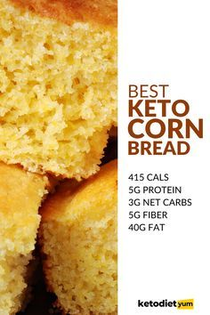 Healthy Low Carb Recipes, Low Carb Chicken Recipes, Low Carb Dinner Recipes, Low Carb Keto, Keto Recipes, Keto Dinner, Bread Recipes, Low Carb Cornbread Recipe, Cornbread Recipe Without Flour