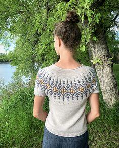 Ravelry: Gardengate pattern by Jennifer Steingass Fair Isle Knitting Patterns, Sweater Knitting Patterns, Knitting Designs, Knit Patterns, Knitting Projects, Baby Knitting, Knitting Tutorials, Vintage Knitting, Free Knitting