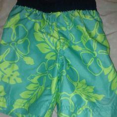 Hawaiian Toddler Swim Trunks Only wore once. Children's Place Swim Swim Trunks