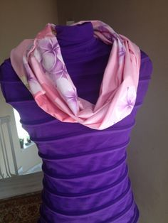 Spring infinity scarf from cotton diy tutorial annoulasmom.blogspot.gr