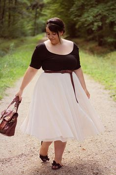 Perfect - what a great skirt!