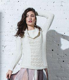 91caf4eb7 Amy Gunderson's Santa Fe Tunic knit in Fibra Natura Dona. From knit.purl  Fall