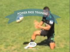 Power Pass Training by LeslieRugby #rugby #skill #coaching #passing #pass #training