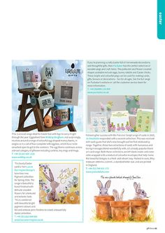 Gift Focus Magazine Issue 93 January / February 2016 featuring our Pretty Wooden Easter Pegs