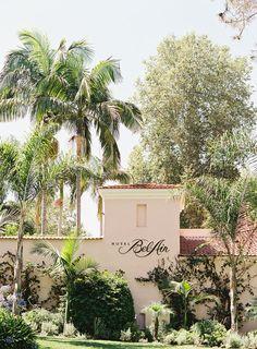 Destination wedding at Hotel Bel-Air, Bel Aire, California