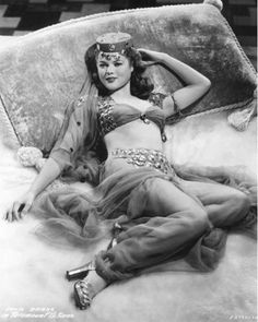 Donna Drake in Road to Morocco (1942)