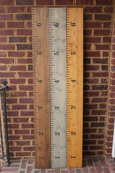 Hey, I found this really awesome Etsy listing at https://www.etsy.com/listing/98751499/engraved-wood-ruler-growth-chart