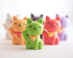 Gatito verde