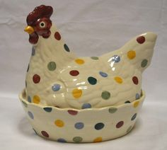 Emma Bridgewater Polka Dot Hen on a Nest