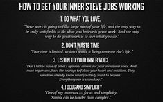 How to get your inner Steve Jobs working. Dope Quotes, Sassy Quotes, Smile Quotes, Positive Life, Positive Quotes, Job Work, Philosophy Quotes, Power Of Positivity, Powerful Quotes