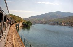 World's 15 Best Train Rides - Portugal - Douro Line. Early spring to late summer, when almond trees blossom in March & dramatically terraced grape vines burst with fruit in August, the circa-1887 Douro Line route from Porto to Pocinho is one of the easiest ways to enjoy Portugal's verdant Douro River valley. Fun fact: The river-hugging route crosses 30 bridges and passes through 26 tunnels as well as making stops at beautiful historic train stations, such as those at Régua and Pinhão.