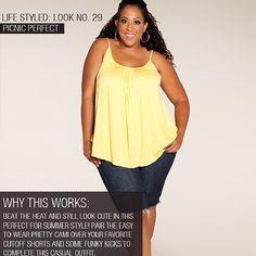 "@Ruthie Designs Plus Size Fashion's photo: ""#LifeStyledLook Picnic Perfect shop swakdesigns.com #swakdesigns #swak #plussizefashion #plussize"""