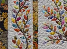 ~ Leaves of Spring by Letitia Chung (link doesn't take you to this. What a good scrap buster quilt)