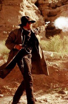 Kevin Costner as Wyatt Earp