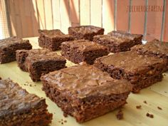 Brownies tradizionali zuccheroefarina