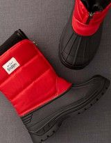 Winter Boots (Red)