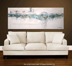 72xxl large abstract painting original  free by jolinaanthony, $369.00