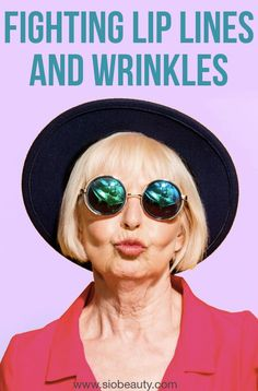 Antiaging Skincare: What Causes Vertical Lines & Wrinkles On Your Lips? Anti Aging Tips, Anti Aging Skin Care, Natural Skin Care, Natural Beauty, Beauty Trends, Beauty Hacks, Lip Wrinkles, Wrinkle Remedies, Best Skin Care Routine