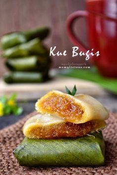 [Indonesian] Kue Bugis - steamed glutinous rice cake filled with shredded coconut & brown sugar