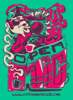 Hip Hop | illustration by artisticpsycho87, via deviantART