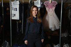 Monique Lhuillier Photos: Monique Lhuillier - Backstage - Mercedes-Benz Fashion Week Fall 2014