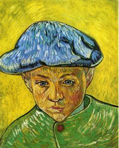 Portrait of Camille Roulin (Vincent van Gogh - 1888)
