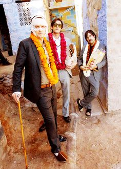 The Darjeeling Limited directed by the lovely Wes Anderson