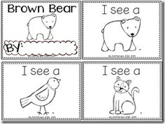 Brown Bear Easy Reader!