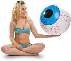 Big Mouth Inc. 20-inch Giant Eyeball Beach Ball