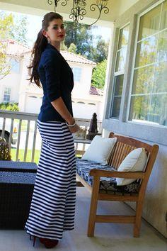 DIY Maxi Skirt.