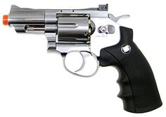 Wingun 708 25 Airsoft CO2 Revolver Silver *** Check out the image by visiting the link.