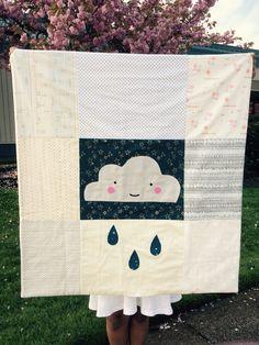 ☁️ Rainy Day quilt
