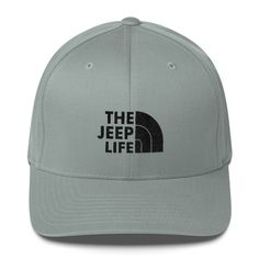 The Jeep Life (black embroidery) Flex Fit