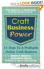 "#crafts #DIY Book Pick: ""Craft Business Power"""