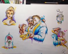 Watercolour beauty and the beast. Just in time for trailer. #rorydickie1982 #disney #disneytattoo #tattoo #tattooflash #flashsheet #beautyandthebeast #belle #beast #chip #tillthelastpetalfalls #beourguest #glasgow #glasgowtattoo #glasgowtattooartist #rose #watercolour #watercolor #watercolourdisneytattoo #watercolourtattoo #watercolortattoo #tattoosuppliesuk #terrystattoo by roryd1982