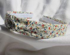 Vintage Floral Knot Headband on Etsy, $10.99