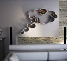 Dream bookshelf, designed by Dripta Design Studio