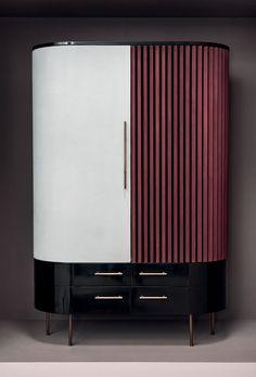 Sideboard Furniture, Art Deco Furniture, Unique Furniture, Furniture Design, Credenza, Bar Console, Modern Drawers, Luxury Bar, Kitchen Room Design