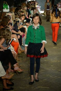 The Fall 2013 Girls Fashion Show