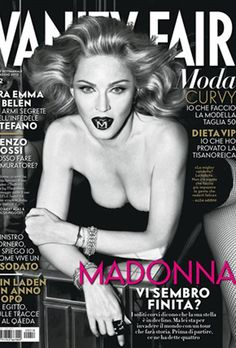 Ageless Madonna covers Italian Vanity Fair; physicists study how she made time stand still.